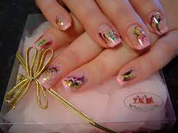 nail art pretty nails design with one stroke beautiful nail art