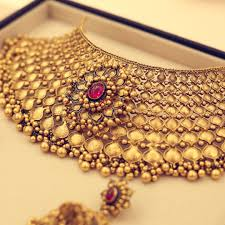 luxury gold necklace images Bridal gold showstoppers by azva goldjewellery luxury style jpg