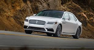 lincoln 2017 car 2017 lincoln continental safety review and crash test ratings