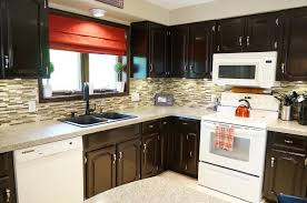 How To Gel Stain Cabinets by How To Gel Stain Kitchen Cabinets