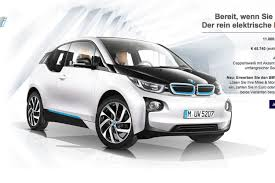 si e bmw you can now buy a bmw i3 with airline