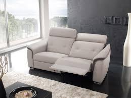 canapé avec repose pied salons relaxation meubles etienne mougin