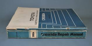 1984 toyota cressida factory service shop repair manual oem set