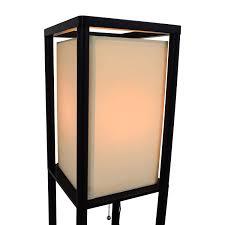 35 off threshold threshold shelf floor lamp with shade decor