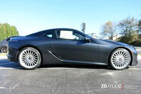 rapide savini wheels lexus lc500 with 22in tsw turbina wheels butler tire luxury u0026 hi