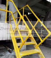 Fiberglass Handrail Weather Resistant Fiberglass Handrail High Strength Round Or