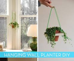Hanging Wall Planters Roundup 18 Diy Planters Pots And Other Decorative Ideas Curbly
