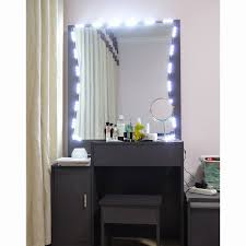 wall mounted hardwired lighted makeup mirror hardwired lighted makeup mirror 10x best of 90 best lighted vanity