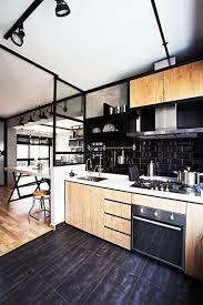cuisine avec carrelage metro étourdissant deco cuisine bois clair avec carrelage metro cuisine