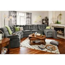 City Furniture Living Room Big Softie 6 Power Reclining Sectional With Right Facing