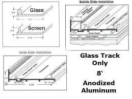 sliding glass cabinet door track replacement sliding glass door track sliding door designs