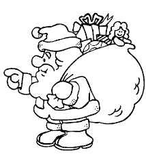 santa coloring pages coloring point coloring point