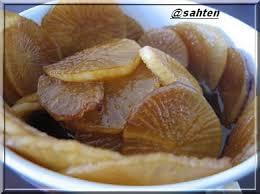 cuisiner le navet navets en sauce ã la chinoise cuisine libanaise par sahten