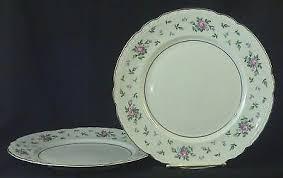 princess china sweet briar princess china sweet briar 6 bread butter plate lot of 2