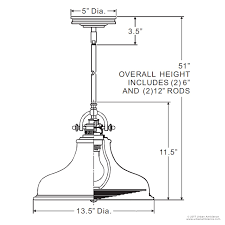 hanging picture height uql2286 industrial hanging pendant light 11 5