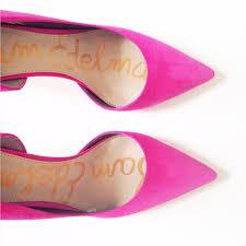 Pink Flat Color Pink Sam Edelman Heels Shoes Glorious Shoes Pinterest