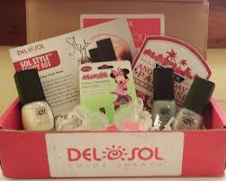 del sol nail subscription box review simple mom review