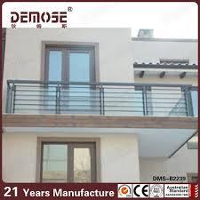 roof deck railings design stainless steel balcony railing price