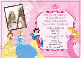 Birthday Invitation Cards Models Princess Birthday Invitations Blueklip Com