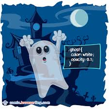 ghost css puns and css jokes