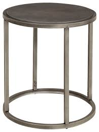modern round end table the most new metal end table with regard to house designs