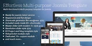 effortless multi purpose joomla template by bdthemes themeforest