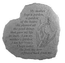 memory stones memorial my kept a garden