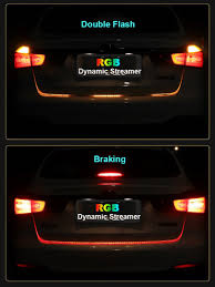 Led Strip Tail Lights by Car Turn Brake Warning Signal Led Strip Hsd Il Racing Performance