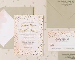 Foil Wedding Invitations Gold Foil Invitation