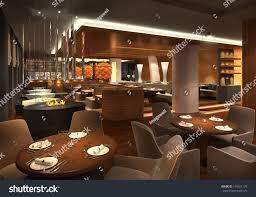 3d render restaurant interior stock illustration 134821139 3d render of a restaurant interior