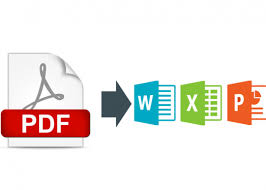 Pdf To Word Convert Pdf To Word Excel Powerpoint And More For 5 Jordybar