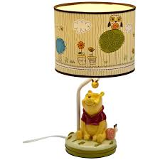 nightstand beautiful pretty table lamps side winnie the pooh