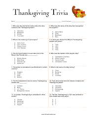 free thanksgiving trivia templates at allbusinesstemplates