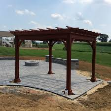 10 X 10 Pergola by Traditional Pergolas Recreation Unlimited