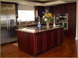 natural cherry cabinets darkening home design ideas