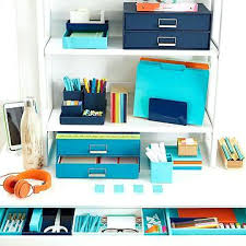 Desk Supplies For Office Office Shelf Organization Ideas Atken Me