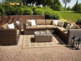 engaging round coffee table with nesting ottomans tags round