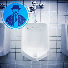 how to become a man talking to another man at a urinal but in a cool