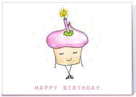 Cute Birthday Meme - cute birthday cupcake greeting card by lady lucas card gnome