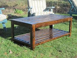 outdoor wood coffee table plans plans diy free download long