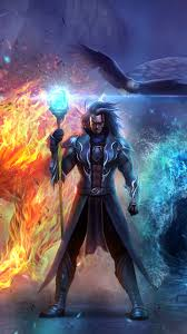 fantasy wizard 720x1280 wallpaper id 659760 mobile abyss
