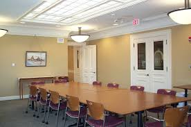 Conference Room Decor Beige Painted Wall For Conference Room With Brown Wooden Meeting