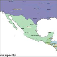 mexico in the world map map of mexico mexico map world map