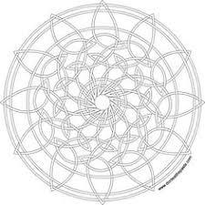 star circle mandala print color png