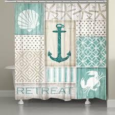 Coastal Shower Curtains Coastal Shower Curtains Wayfair