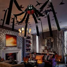 50 u2033 giant spider halloween house decoration hanging decor haunted