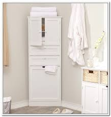Decorative Bathroom Storage Cabinets Likeable Corner Bathroom Storage Cabinet Bathroom Best