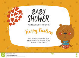 baby shower and boy invitation stock vector image 74941290