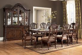 Dining Room Set With China Cabinet by North By Ashley Dining Room Collection