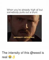 High Memes - when you re already high af but somebody pulls out a blunt
